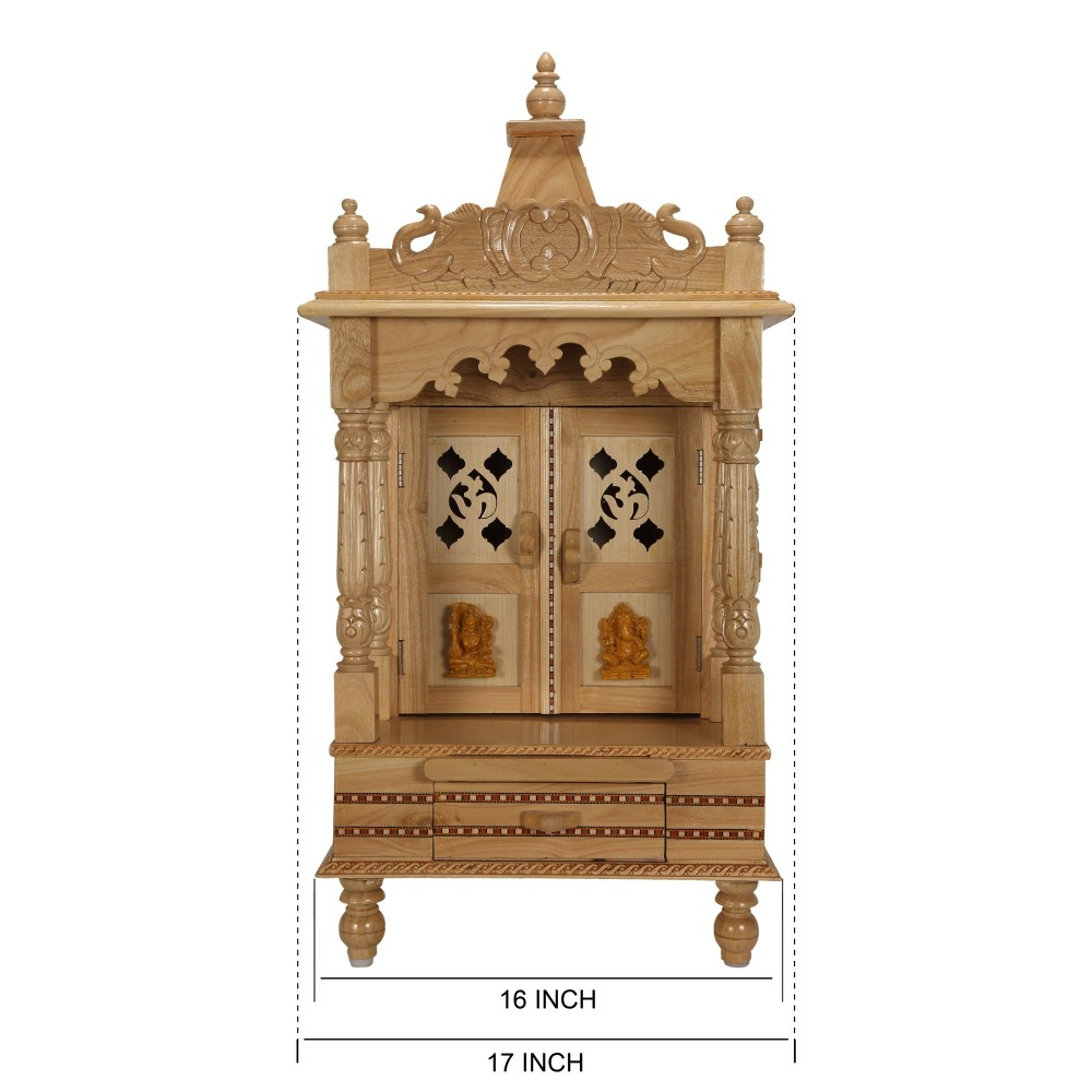 100 mandir decoration at home ganesh chaturthi decoration mandir decoration at home sevan wood mandir temple for home and offices sw121633 sevan