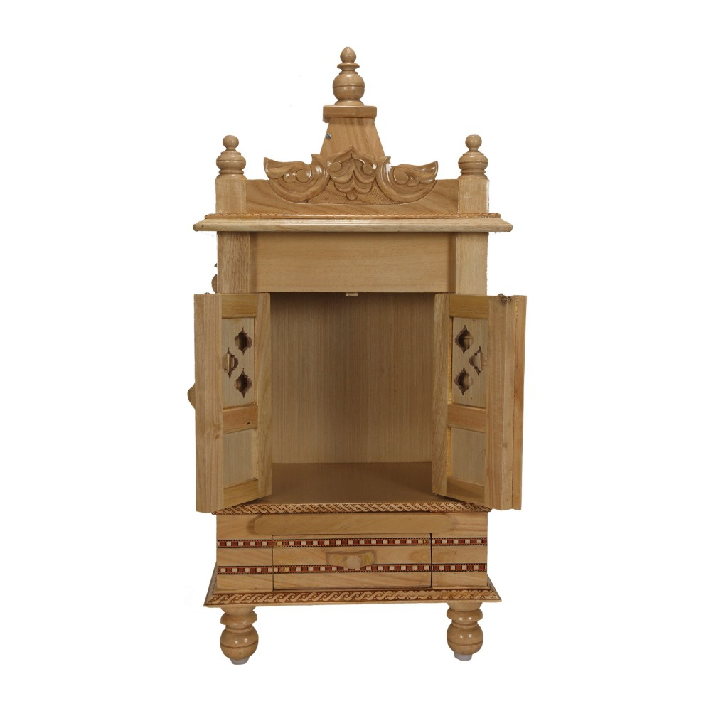 Wooden temple designs for home small temple for home wooden home - Sevan Wood Small Temple For Home In Usa Sw101328 Sevan Wood Mandir Temples