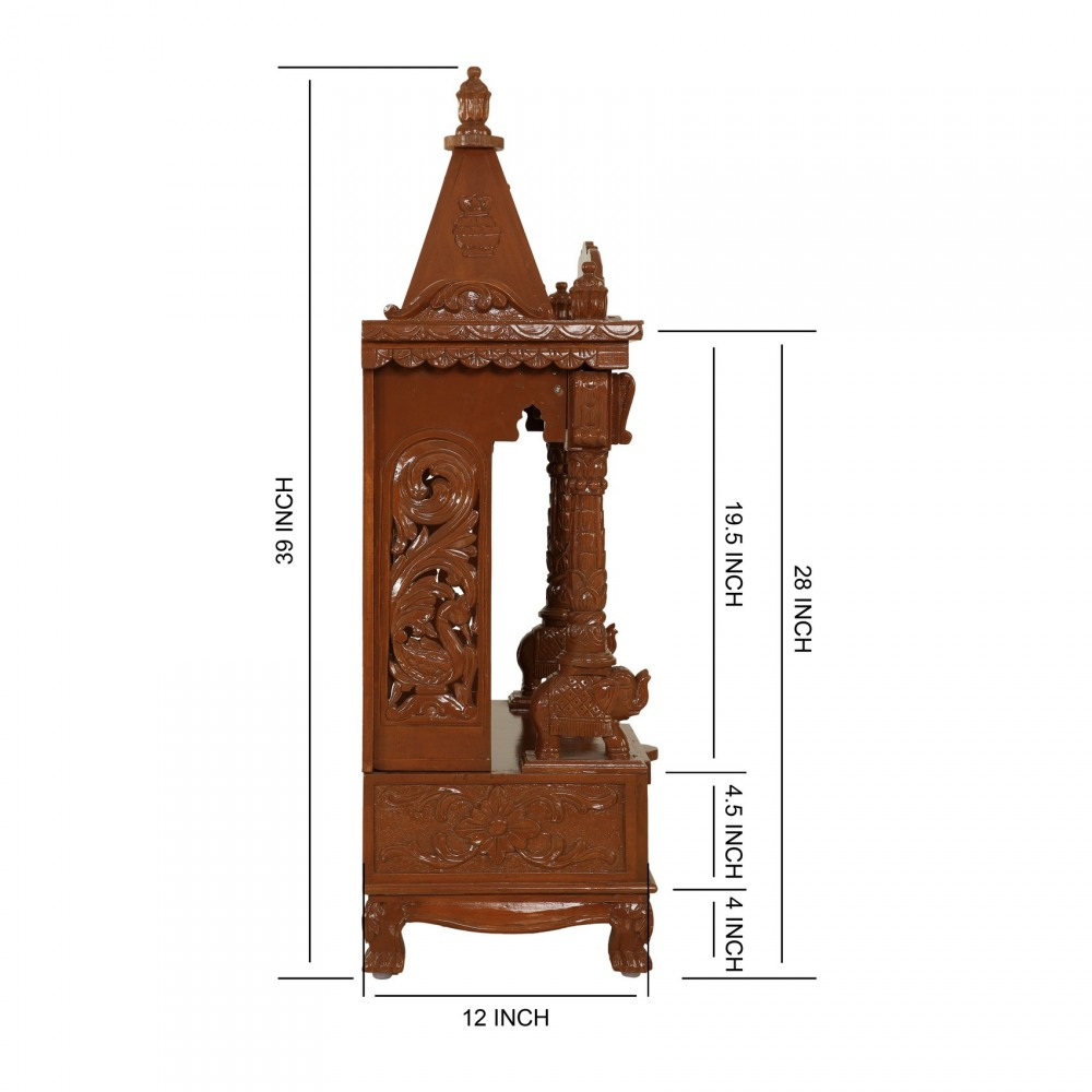 Sevan Wood Pooja Mandir Models for Home - 170613_2585 - Sevan Wood ...