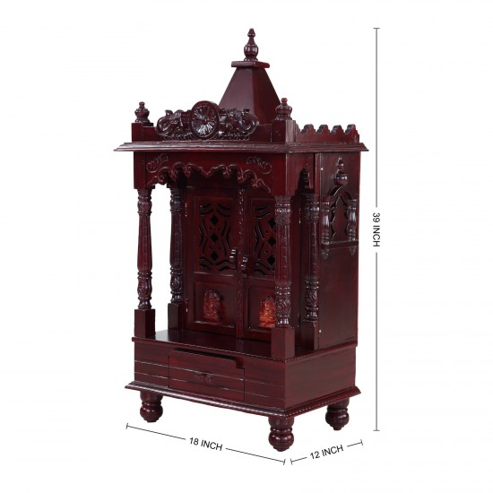 Traditional Indian Mandir Design For Home 170613 2591 Sevan Wood Mandir Temples
