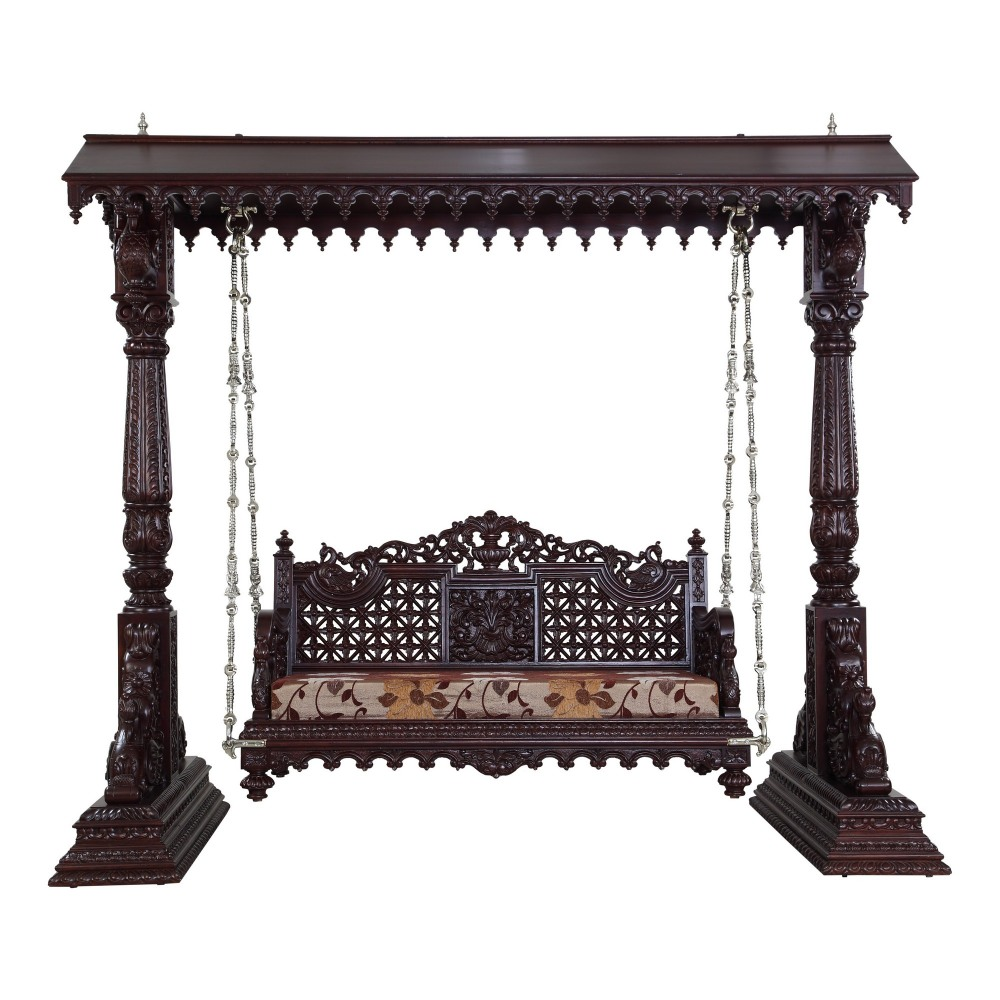 Beautiful Carved Indian Traditional Royal Swings For USA