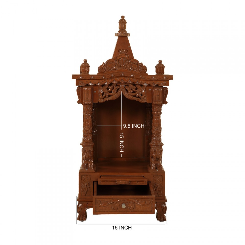 Indian Sevan Wooden Mandir for Home with Price - 170613 2579 - Sevan Wood  Mandir 67a9365e8